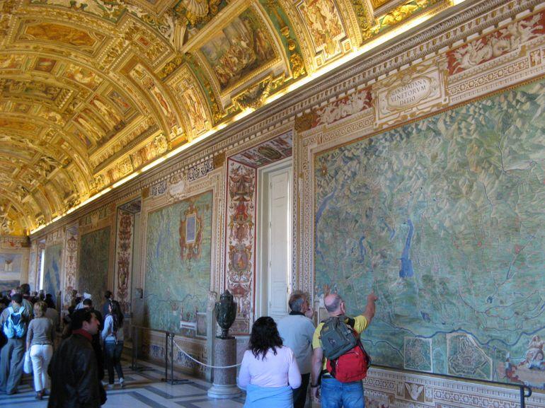 galeria hartilor