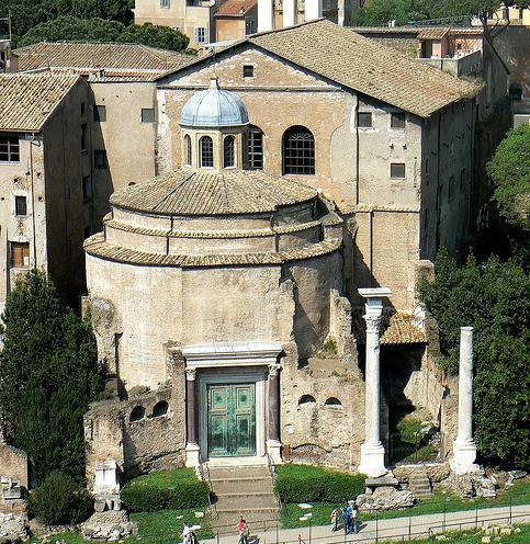 templul lui romulus