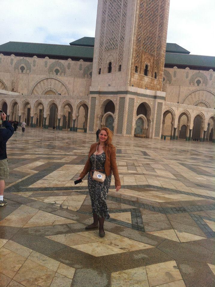 Casablanca și moscheea care iese din mare