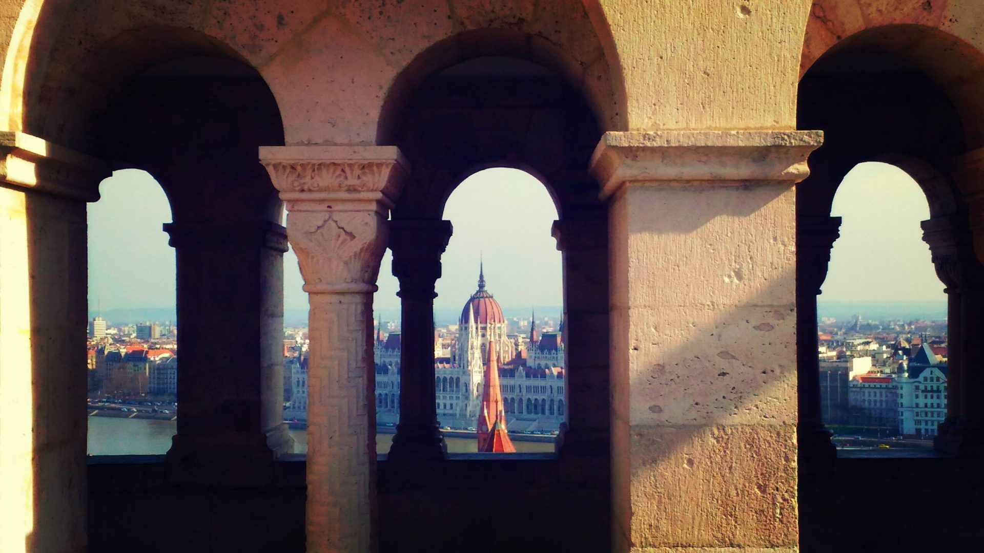 Budapesta, o vedere panoramică